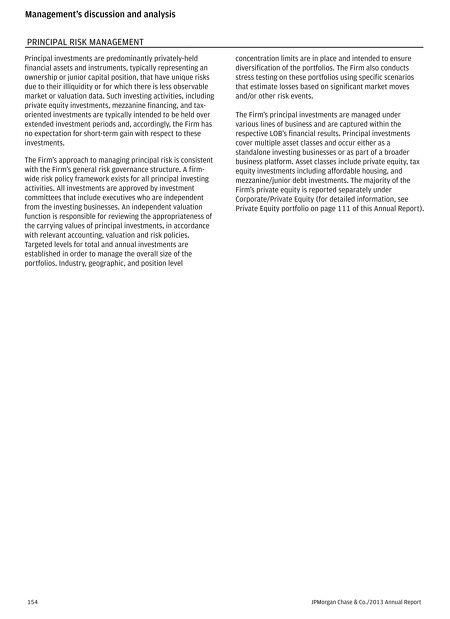 contents of this issue - Jp Morgan Cover Letter
