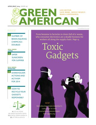 Green American #98, April-May 2014