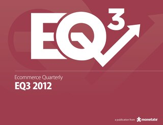Ecommerce Quarterly (Q3 2012)
