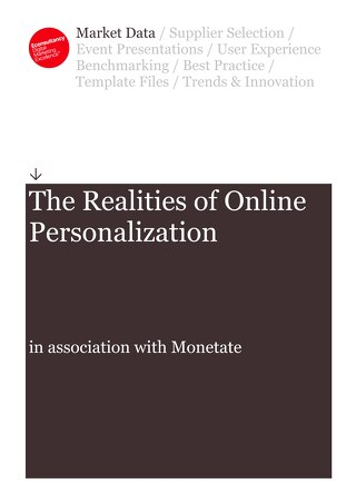 The Realities of Online Personalization