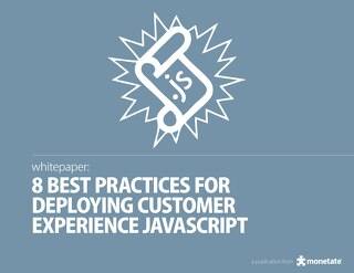8 Best Practices for Deploying Customer Experience JavaScript