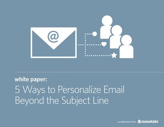 5 Ways to Personalize Email Beyond the Subject Line