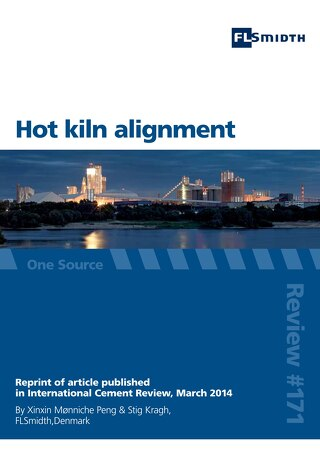 Hot kiln alignment