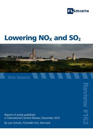 Lowering NOx and SO2