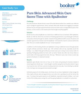 Case Study: Pure Skin Advanced Skincare