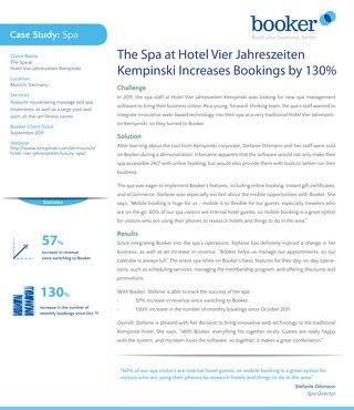 Case Study: Kempinski Hotel