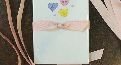 Loving our new Valentine notepad designed by the lovely and...