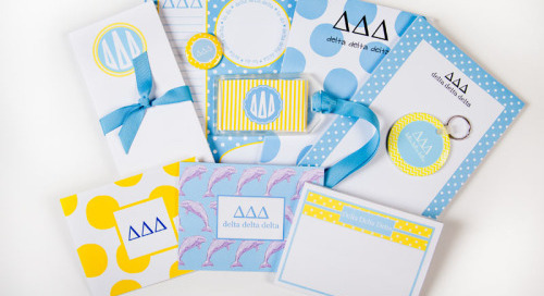 This week's GREEK GOODIE GIVEAWAY spotlight is on Delta Delta...