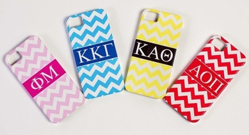 All month long take 30% off of our darling sorority phone cases...