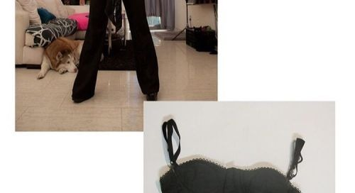 Own @AshHollywood #sexy #wardrobe #top from @STRIPLVMAG shoot....