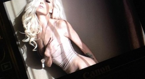 @therealdanielletrixie by @santodonato06 for @striplv1 #art...