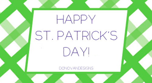 Wishing you the luck of the Irish today! Happy St. Patrick's...
