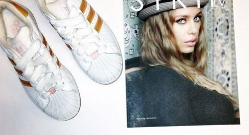Own @XNicoleAnistonX #wardrobe @adidas from @STRIPLVMAG shoot....