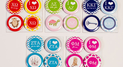 Moving back to campus this month? Deck the fridge with sorority...