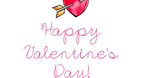 Happy Valentine's Day! xx dd