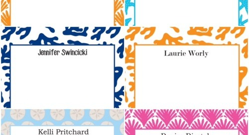 A sampling of our easy, breezy, beachy *NEW* large notepad...