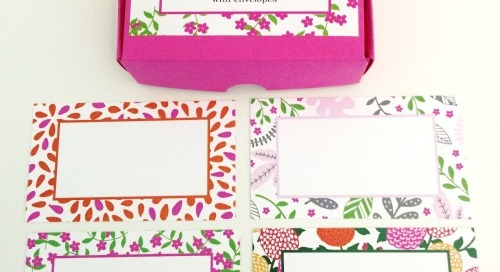 Introducing *NEW* gift enclosures in our latest patterns! The...