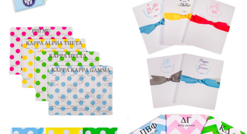 Looking for last-minute gifts for a special sorority sister?...