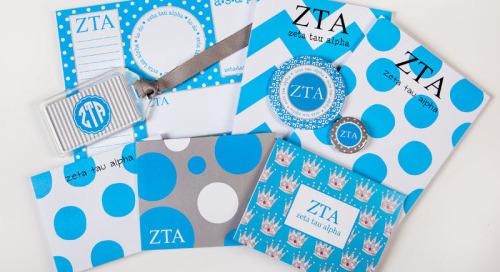 This week's GREEK GOODIE GIVEAWAY spotlight is on ZETA TAU...