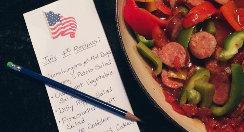 Just a little prep for the 4th! Excited for cookouts, parades,...