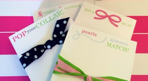 Introducing *new* notepad designs! Perfect for preppy pearl, bow...
