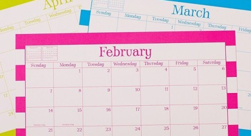 Welcome, February! {although we might be a little more excited...