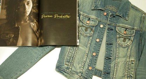 Own @RavenRocketCat #wardrobe #jean #jacket from @STRIPLVMAG...