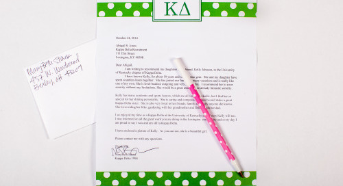 Shop sorority letterhead by dd! Perfect for reference letters,...