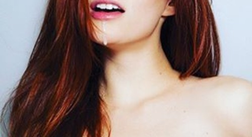Ashlyn Molloy in new @striplv1 by @santodonato06 #art #sexy...