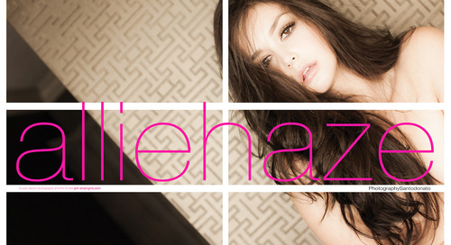 #AllieHaze in new #Striplvmag by #Santodonato
