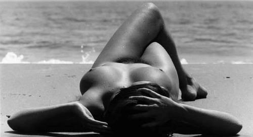 classyartgallery:    Nu de la plage 1971   by  Lucien...