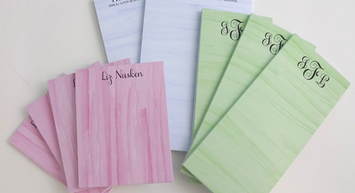 Enter this week's PERSONALIZED NOTEPAD GIVEAWAY! Enter on...