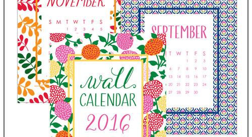 Love our cutie calendar? Now enjoy donovandesigns calendars FOUR...