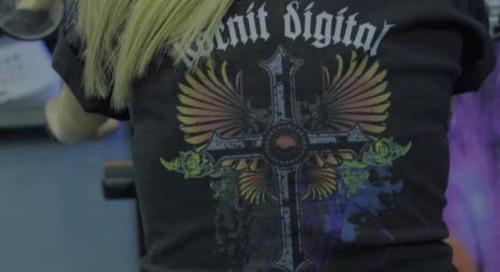 Kornit Breeze Sword Video