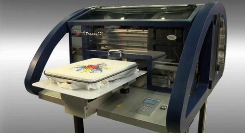Kornit Breeze Digital Direct On Garment Printer