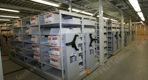 Save-n-Aisle Storage Systems on GSA & TXMAS Contracts for Government Agencies