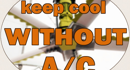 How to Use Fans to Cool Your Facility Without Air Conditioning in Summer