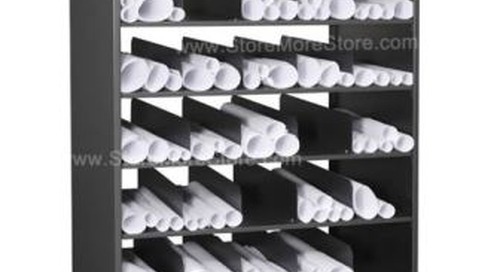 Poster Storage: Cubby Shelves, Flat File Cabinets & Hanging Folders