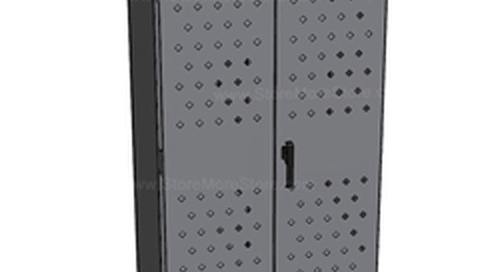 Police Gear Lockers for Law Enforcement Personal Property