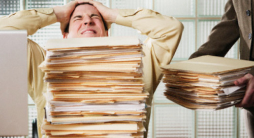 How to Get Rid of the Pile of Paperwork on Your Desk