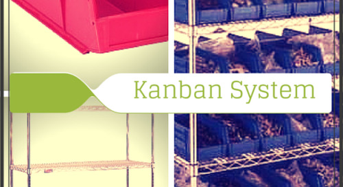 Kanban Nursing Supply Storage | Plastic Bins & Wire Shelving Carts