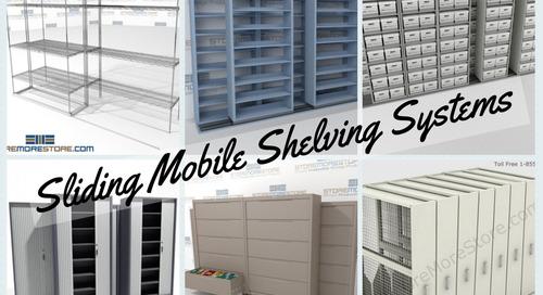 6 Unique Sliding Mobile Shelving Systems