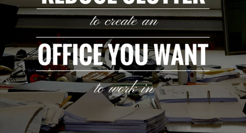 How to Clear the Clutter in Your Office & Get Organized