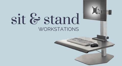 Why Sit & Stand Workstations are Good for Your Health