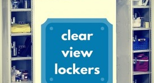 See-Through Clear View Lockers & Cubbies for Schools & Businesses
