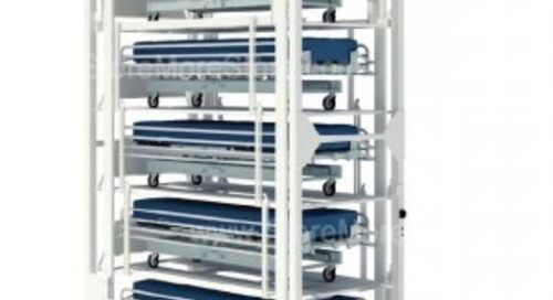 Save Hospital Space with Automatic Stacking Bed Lifts