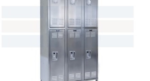 Stainless Steel Rust-Free Lockers Resist Corrosion