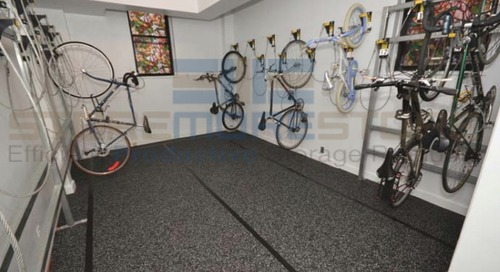Wall Mounted Hanging Bike Hooks for Retail Stores & Apartments