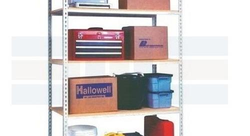 Boltless Rivet Shelving Industrial Heavy Duty Bulk Storage