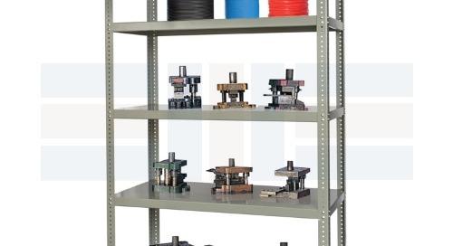 High Capacity Storage Racks Heavy Tool & Die Shelving
